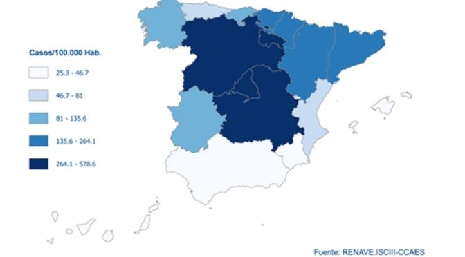 En España, hasta el momento se han notificado un total de 191.726 casos confirmados de COVID-19, según datos oficiales