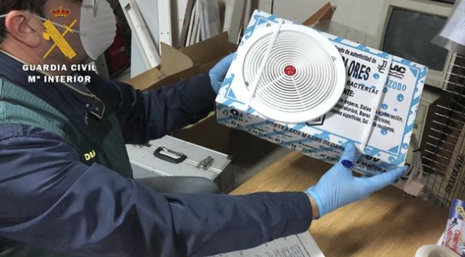 La Guardia Civil investiga a una persona en La Rioja por publicidad engañosa relacionada con el COVID 19