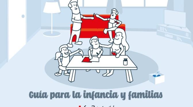 'Imagina con Cruz Roja', guía de actividades para el confinamiento en familia