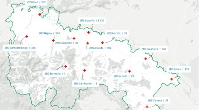 Los casos confirmados en La Rioja llegan a los 3705
