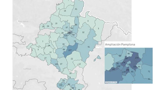 Navarra registra 146 casos nuevos de COVID-19, mientras la hospitalización continua descendiendo