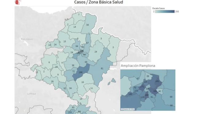 Navarra registra un pequeño repunte al diagnosticarse 173 nuevos casos de COVID-19 en las últimas horas
