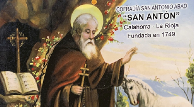La Cofradía de San Antón de Calahorra dona 1000€ a las Hermanitas de los Ancianos Desamparados