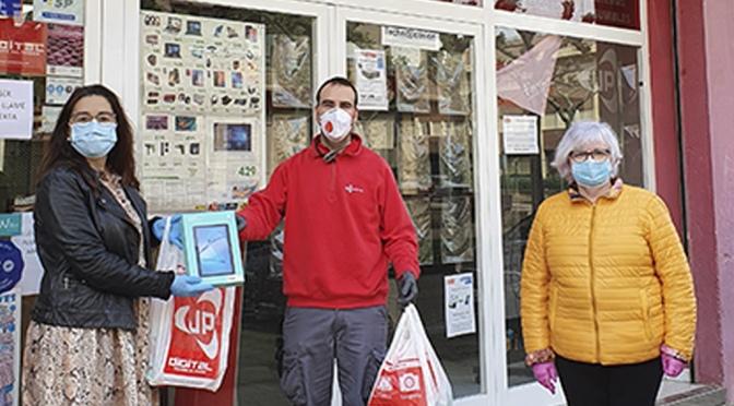 Fundación Hospital de Calahorra y residencias contarán con tablets donadas por UP Digital