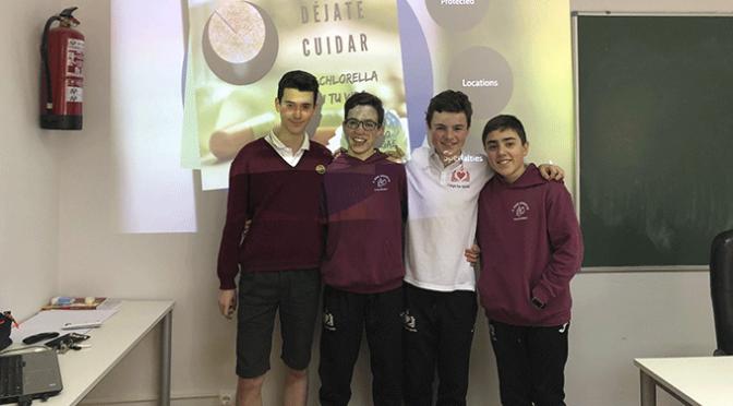 Agustinos logra el primer premio en la feria de ciencia e innovación de La Rioja, Inspiratec