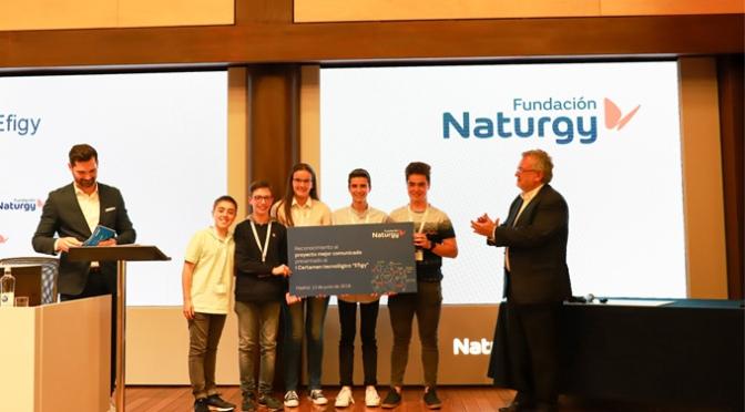 Hoy alumnos del Colegio San Agustín de Calahorra participarán en la gala de la  II Edición del Certamen Tecnológico Efigy de Fundación Naturgy