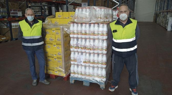 El Banco de Alimentos de La Rioja ha entregado 302.151 kilos de alimentos desde el inicio de la pandemia del coronavirus
