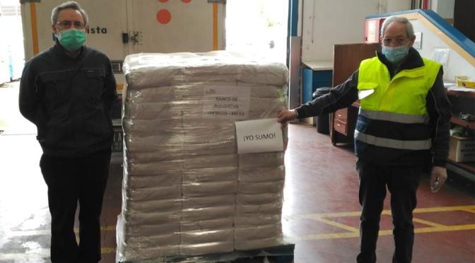 El Banco de Alimentos de La Rioja ha entregado desde el inicio del confinamiento, 192.644 kilos de alimentos