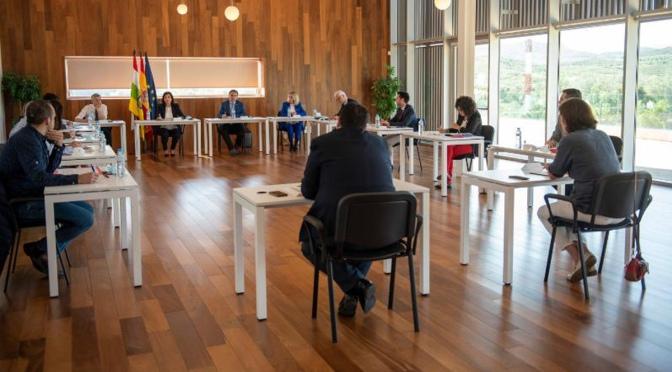 segunda reunión de la Mesa para la Reconstrucción Social y Económica de La Rioja