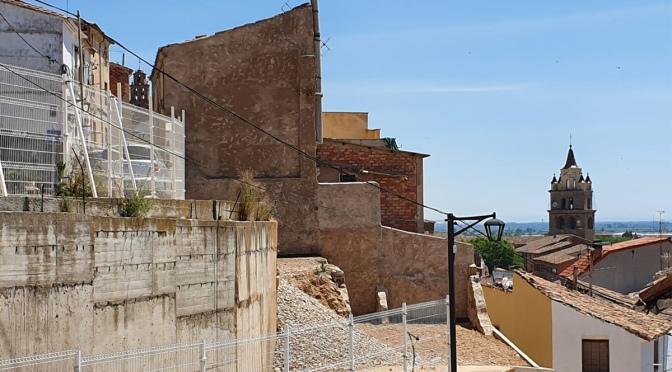 Finalizados los derribos de los edificios de la calle Portillo de la Plaza 27 y 31-33