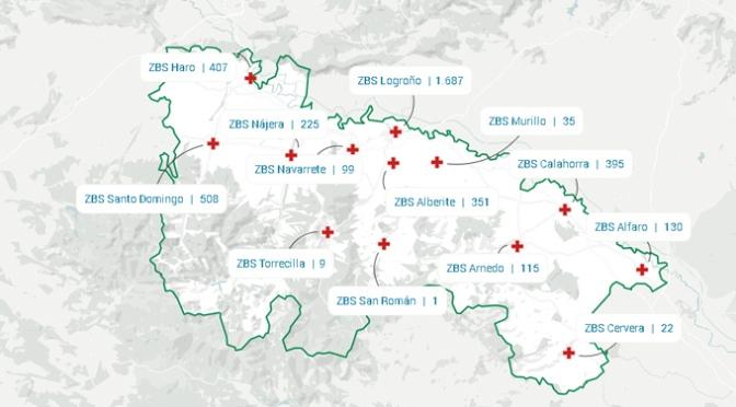 La Rioja no registra ningún nuevo confirmado, aunque lamenta un nuevo fallecido
