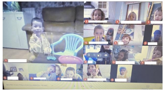 Educación Infantil en el Colegio Santa Teresa: el reto del trabajo online con los más pequeños