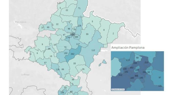 Las altas continuan siendo el número que más crece en los datos por COVID-19 en Navarra