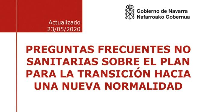 Preguntas frecuentes sobre la nueva fase 2 en Navarra