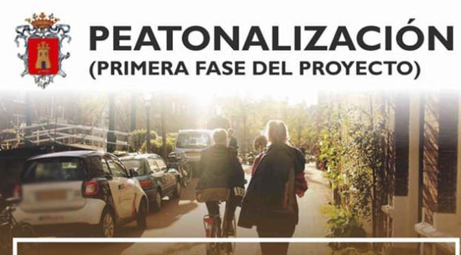 Comienza en Alfaro la primera fase de peatonalización de calles para favorecer la recuperación de la hostelería