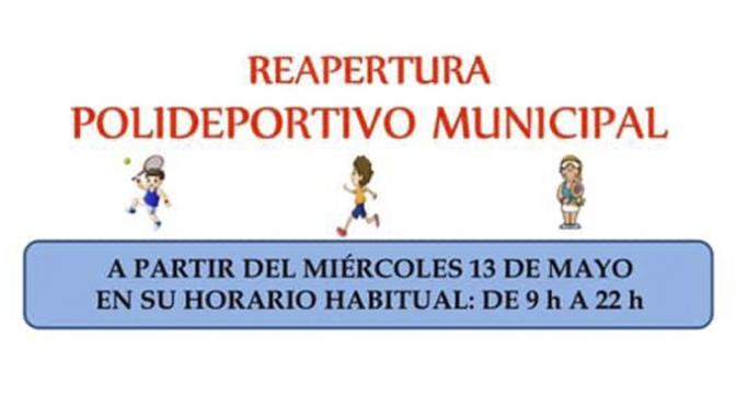 Mañana vuelve a abrir el polideportivo municipal de Alfaro con medidas preventivas para su uso
