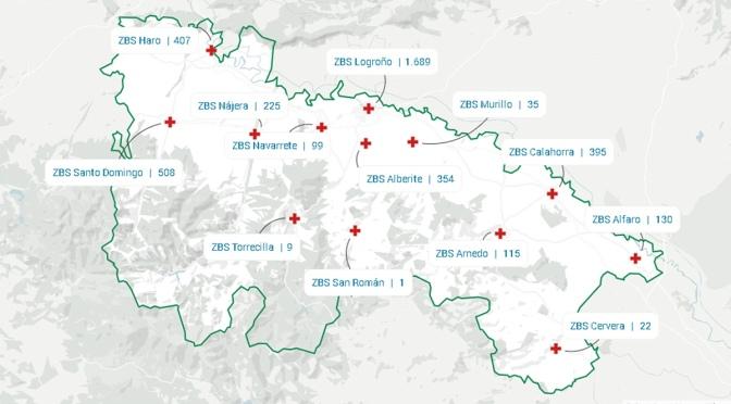 Tres nuevos casos confirmados de COVID-19 en La Rioja