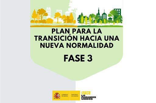 Medidas de aplicación en la fase 3 del Plan para la transición hacia una nueva normalidad