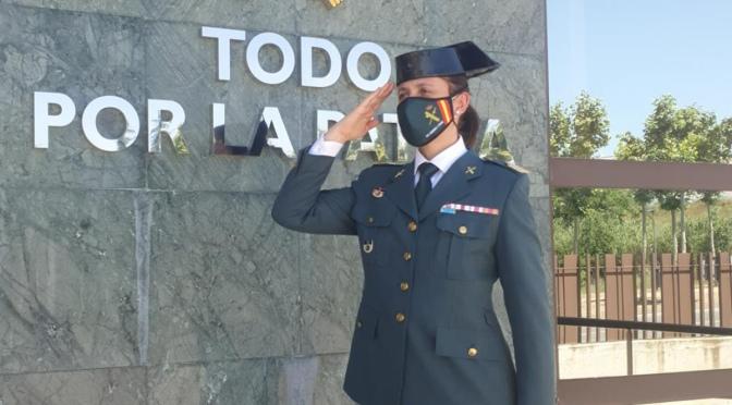 Tras 7 años de servicio en Calahorra La Sargento 1º Pérez cambia de destino