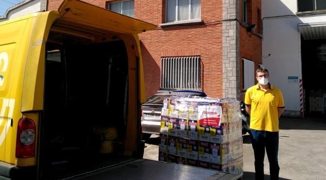 El Banco de Alimentos de La Rioja ha entregado MÁS DE 300.000 KILOS DE ALIMENTOS desde el inicio de la pandemia del coronavirus