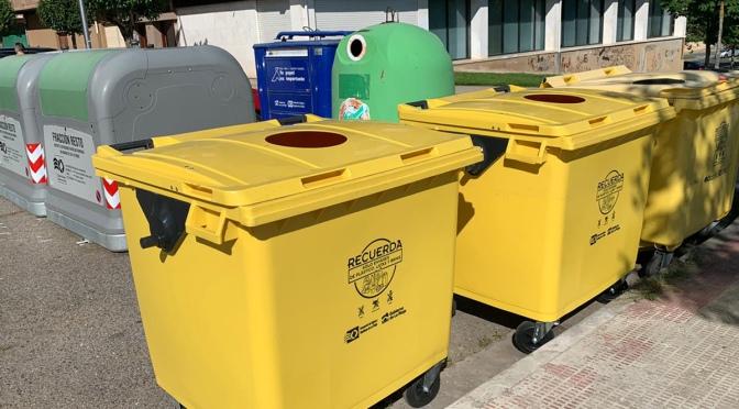 Más contenedores para el reciclaje por el casco urbano de Calahorra