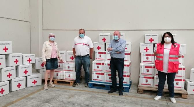 Cruz Roja Alfaro recibe 4000 € para la elaboración de kits para las personas Más vulnerables