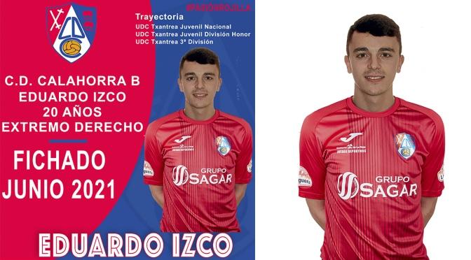 Eduardo Izco nuevo extremo derecho para el CD Calahorra B