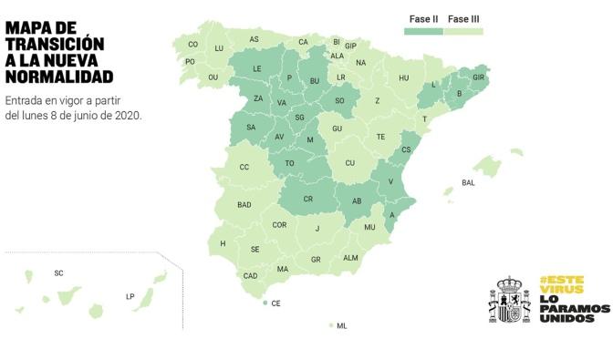 La Rioja y Navarra pasan a la fase 3