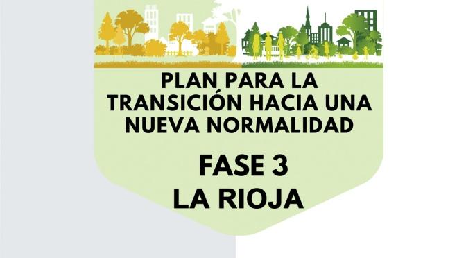 La Rioja solicita a Sanidad el acceso a la Fase 3 de la desescalada