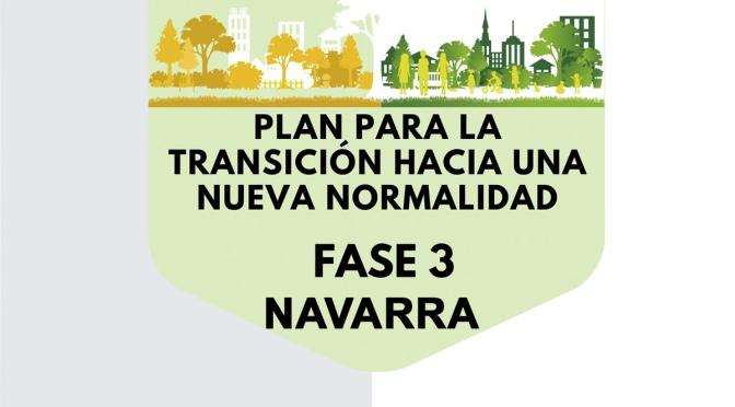 NAVARRA plantea pasar a la fase 3 con determinadas limitaciones para evitar rebrotes