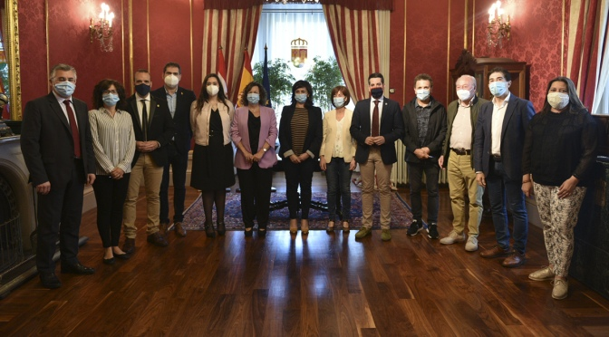 Aldeanueva de Ebro, Alfaro, Calahorra y Rincón de Soto firman convenios para programas de servicios sociales