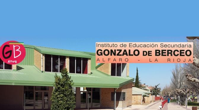 El instituto Gonzalo de Berceo de Alfaro, abre el proceso de admisión para el próximo curso