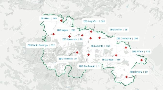 La Rioja notifica un nuevo caso de COVID-19 en una jornada sin detectar nuevos fallecimientos