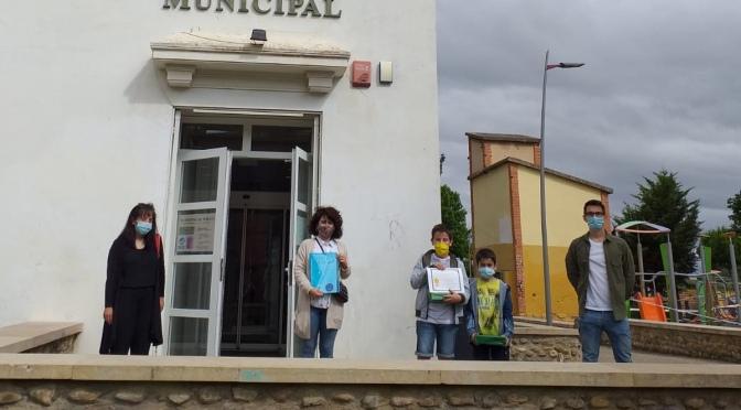 """Javier Íñiguez ganador del concurso de la Biblioteca Municipal de Calahorra   """"Pequepoetas"""""""