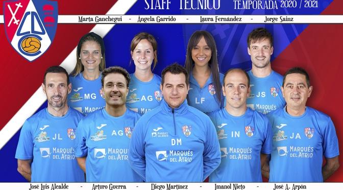 Completado el staff técnico del CD Calahorra