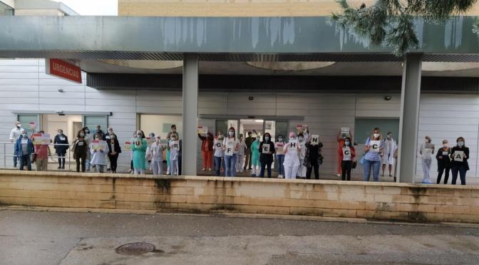Protestas en las urgencias de Calahorra