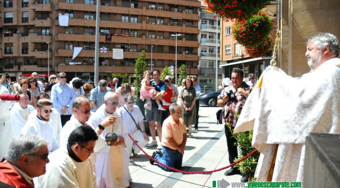 Este domingo se celebra el Corpus Christi en Calahorra