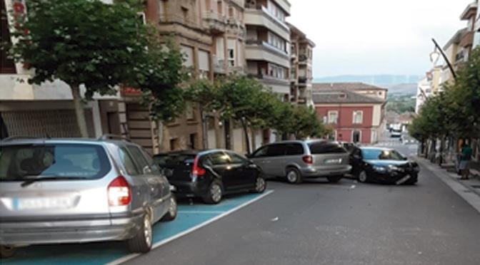 Denunciadas 25 personas en Calahorra por no llevar mascarilla o llevarla mal colocada