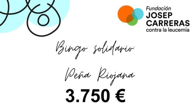 La peña Riojana recauda 3.750€ gracias a las iniciativas de las Fiestas de marzo