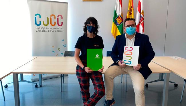 El IRJ y el Consejo de la Juventud de Calahorra firman un convenio por valor de 19.273,59