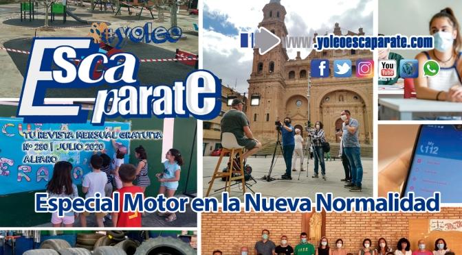 Especial motor en la nueva normalidad en Escaparate Alfaro Julio