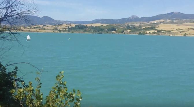 El Gobierno de Navarra regula la afluencia de visitantes al pantano de Alloz