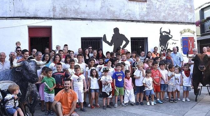 El Club Taurino de Calahorra organiza el tradicional encierro chiqui por San Fermín