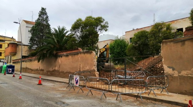Galería: Comienza el derribo parcial del Antiguo cuartel de la Guardia Civil de Calahorra