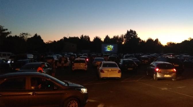 Éxito de Autocorten con más de 120 vehículos en el parking de la Catedral