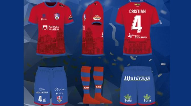 Nueva equipación del CD Calahorra para la próxima temporada