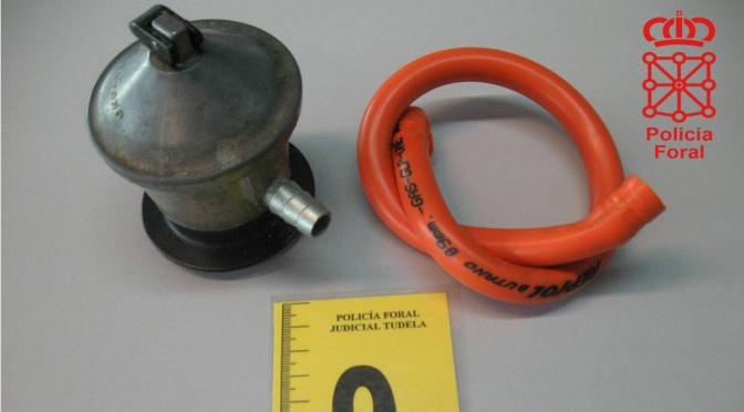 La Policía Foral advierte de fraudulentas revisiones del gas en Azagra