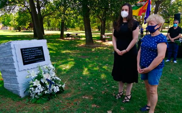 Acto de homenaje a las víctimas del Coronavirus