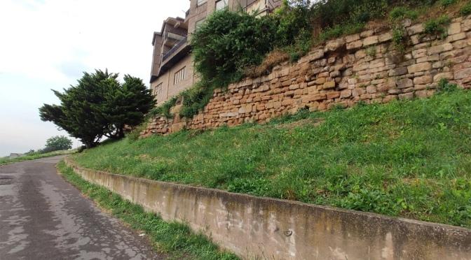 Aprobada la obra de conservación de un tramo de la muralla romana en Calahorra