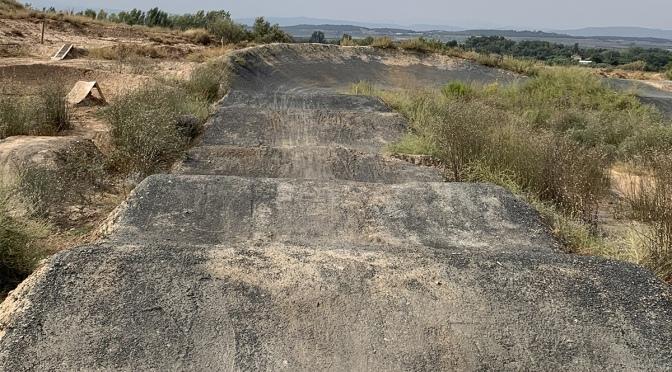 La pista de BMX en  Alfaro será reparada en los próximos días